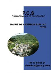 PC.S CHAMBON SUR LAC